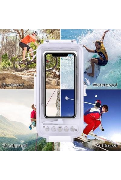 Puluz Apple iPhone İçin 45M Su Geçirmez Dalışm Kılıfı IP11-11 Pro Xs Max 7-8-6s AL-32490
