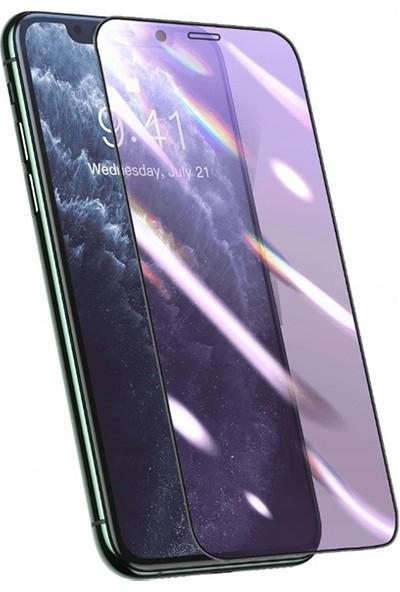 Baseus 0.25 mm Apple iPhone 11 Pro Max-Xs Max 3D Curved Full Anti Blue Ekran Koruyucu AL-32818