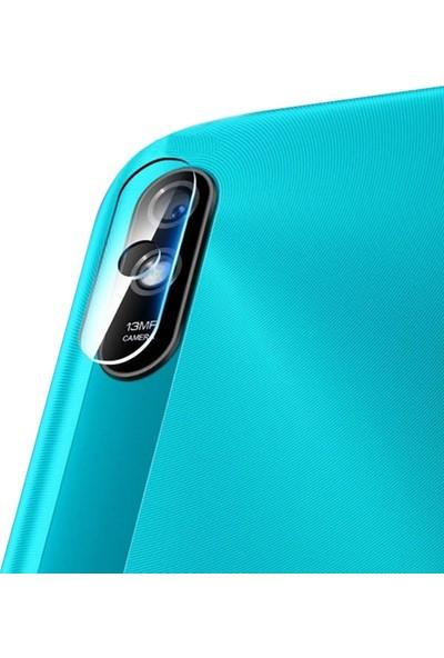 Ally Xiaomi Redmi 9A Tempered Cam Kamera Koruyucu AL-32749