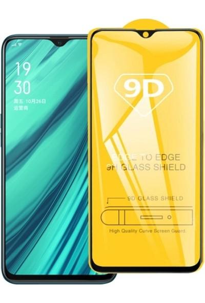 Ally Oppo Realme C2 9D Full Glue Tempered Cam Ekran Koruyucu AL-32875