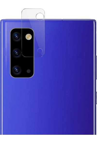 Ally Samsung Galaxy Note 20 Tempered Cam Kamera Koruyucu AL-32746