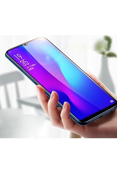 Ally Galaxy A51 9D Full Glue Tempered Cam Ekran Koruyucu AL-32878