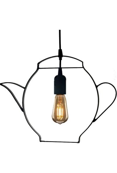 Hepsiniver Home Çaydanlık Model Şık Mutfak Avizesi