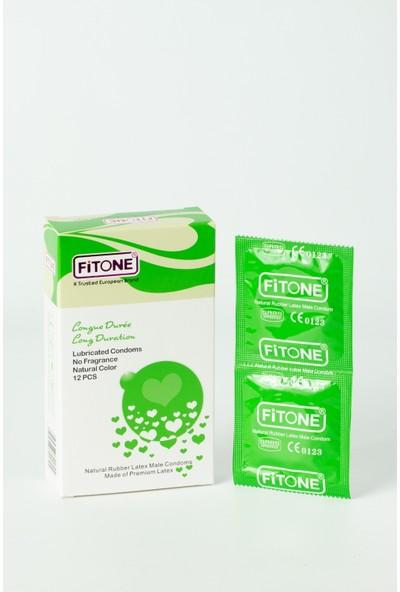Fitone Zevk Geciktiricili Kokusuz Prezervatif 12'li