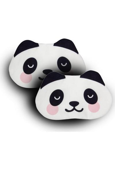 Purple Shopping 2 Adet Uyku Maskesi - Panda