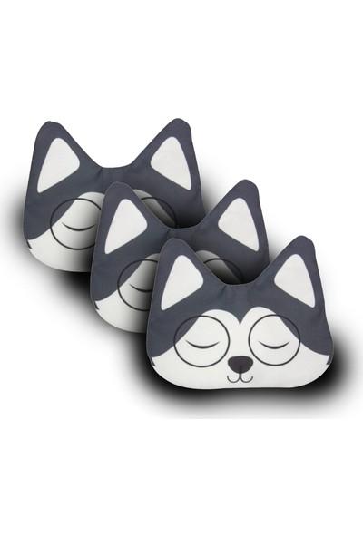 Purple Shopping 3 Adet Uyku Maskesi - Wolf
