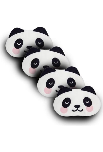 Purple Shopping 4 Adet Uyku Maskesi - Panda