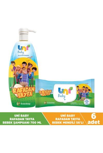 Uni Baby Rafadan Tayfa Mendil + Şampuan Seti