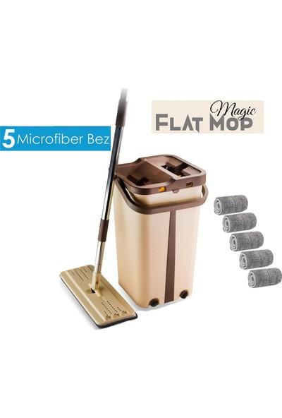 Scratch Anet Magic Flat Tablet Mop Yeni Nesil Pratik Temizlik Seti + 5'li Mikrofiber Bez