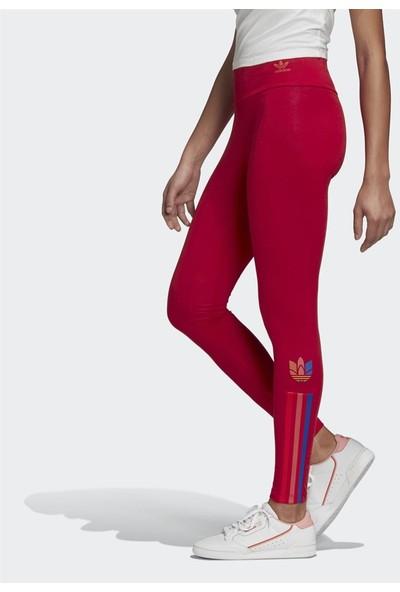 adidas Adicolor 3D Trefoil Kadın Tayt