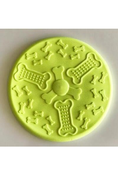 Multi Magic Sert Kauçuk Frizbee Köpek Oyuncağı 18 cm