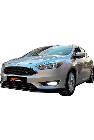 DP Ford Focus 3 Parça Lip 2011-2018 Siyah