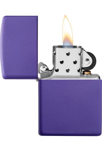 Zippo 237 Reg Purple Matte Çakmak