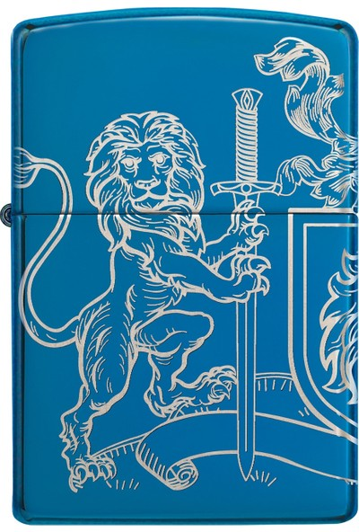 Zippo 20446 Medieval Coat Of Arms Design Çakmak
