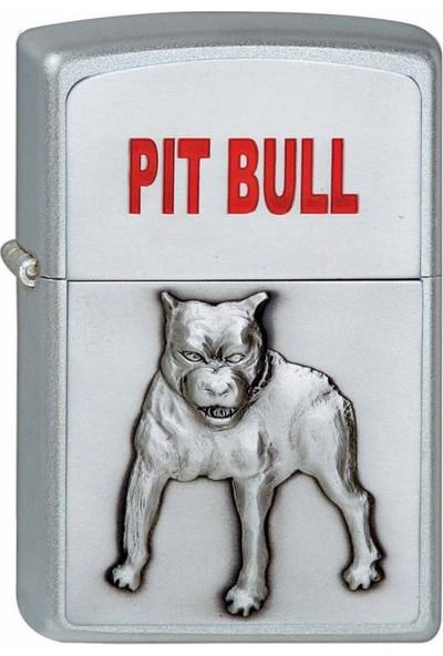Zippo 205 Pit Bull Emblem Çakmak