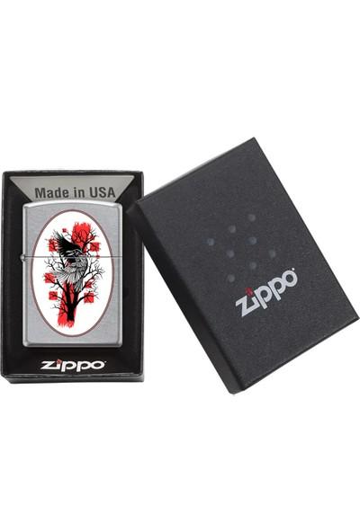 Zippo Grunge Raven Design Çakmak