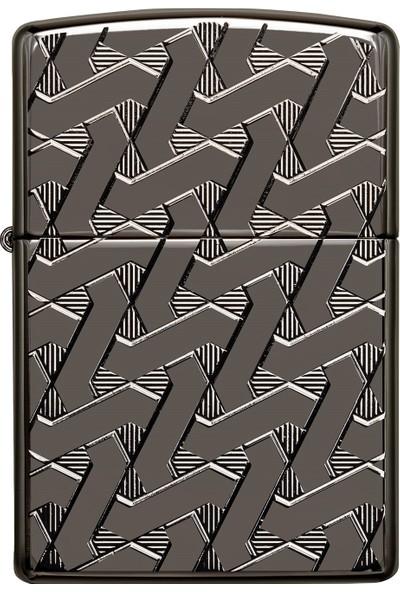 Zippo 24095 Geometric Weave Design Çakmak