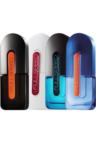 Avon Full Speed Klasik Supersonic Virtual Adrenaline ve Nitro Erkek Parfüm Paketi
