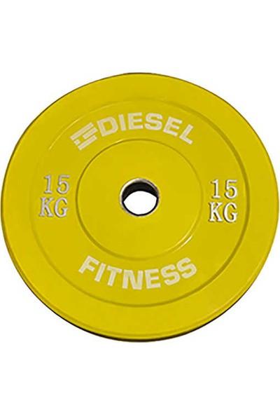 Diesel Fitness Bumper Flans 15KG