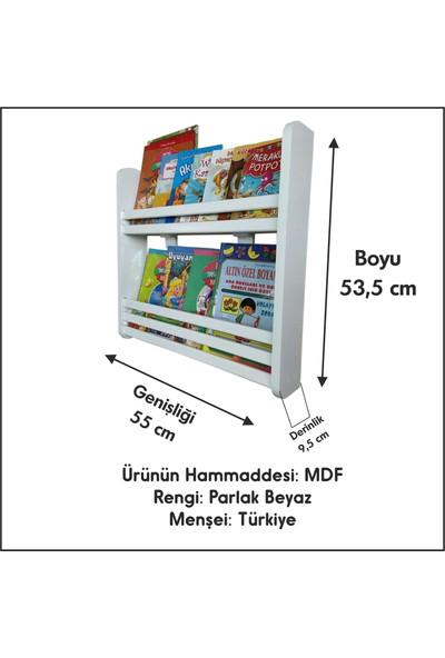 Emdief Home Montessori 2 Raflı Kitaplık