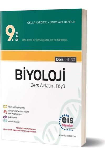 Eis Yayınları 9. Sınıf Biyoloji Ders Anlatım Föyü