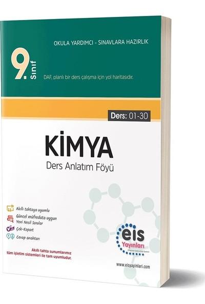 Eis Yayınları 9. Sınıf Kimya Ders Anlatım Föyü