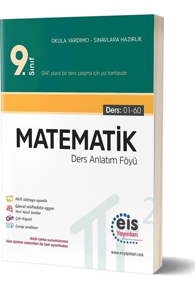 Eis Yayınları 9. Sınıf Matematik Ders Anlatım Föyü