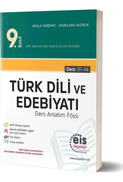 Eis Yayınları 9. Sınıf Türk Dili ve Edebiyatı Ders Anlatım Föyü