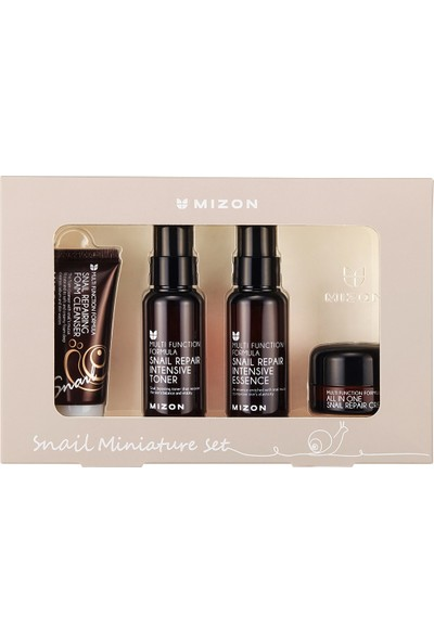 Mizon Snail Miniature Set- Salyangoz Mini Set