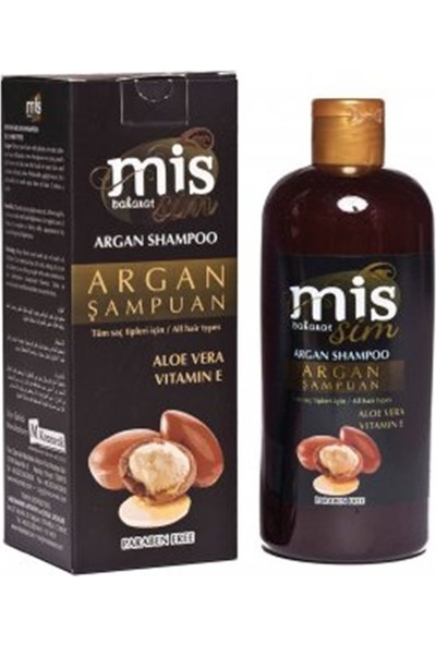 Mis Baharat Argan Şampuan Aloe Vera Vitamin E 400 ml