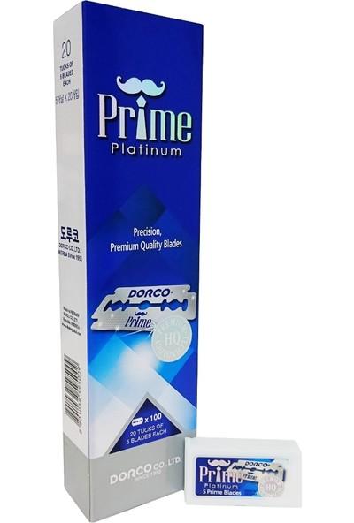 Dorco Prime Platinum Tıraş Bıçağı 100 Adet