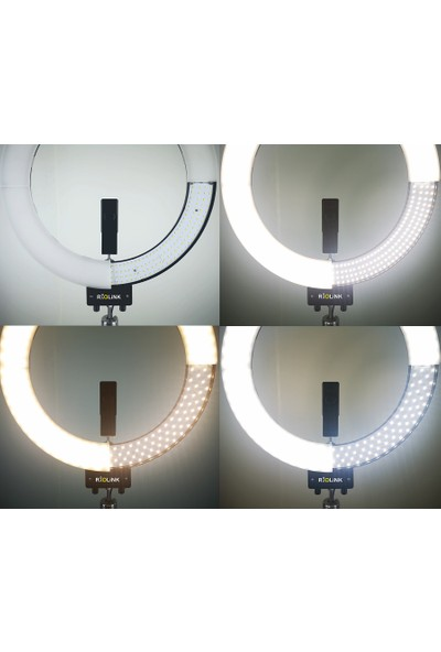"""Riolink 18"""" 84W 480 LED Ring Light"""