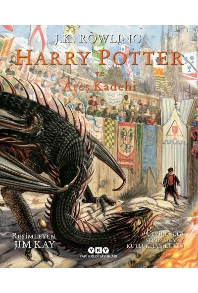 Harry Potter Ve Ateş Kadehi (4) Resimli Özel Baskı - J.K. Rowling