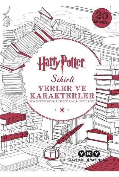 Harry Potter Sihirli Yerler Ve Karakterler - Kartpostal Boyama Kitabı