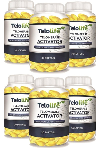Telolife Softgel 180 Günlük Kullanım 6 Adet