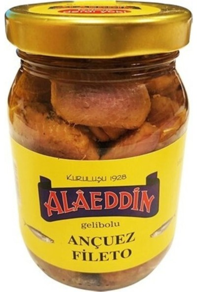 Alaeddin Ançuez Fileto 180 gr