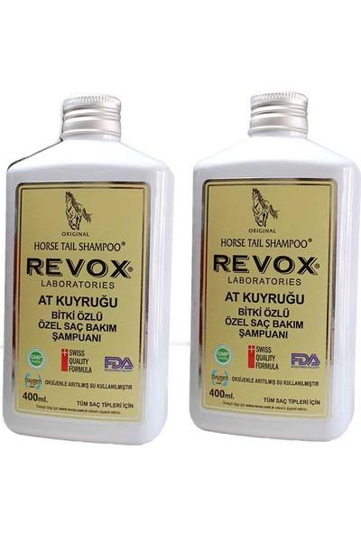 Revox At Kuyruğu Şampuan 400 ml x 2