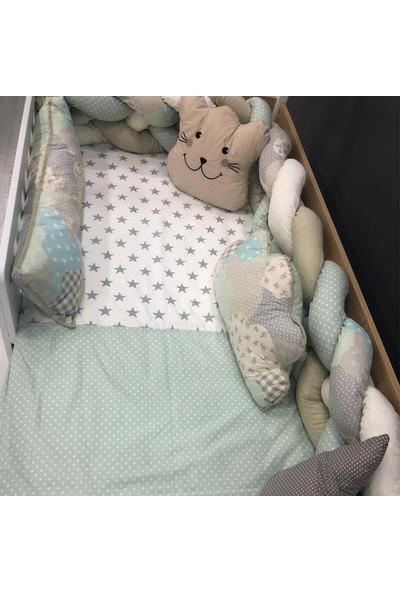 Mini Baby Örgülü Uyku Seti 90 x 190 cm