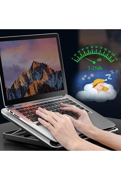 Ssmobil Mc Q5 Serisi Ayarlanabilir Laptop - Notebook Stand Soğutuculu 2 USB Çıkışlı Ss-Mql2