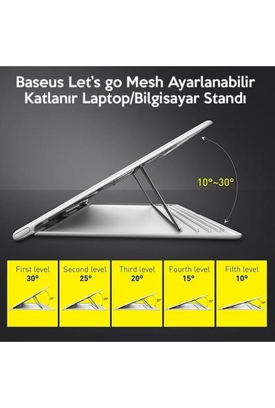 Ssmobil Lets Go Mesh Serisi Ayarlanabilir Katlanır Laptop-Bilgisayar Standı SS-LETS13
