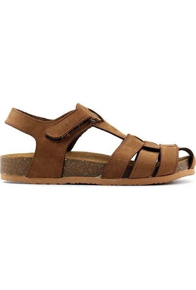 Pafi 311 F Çocuk Sandalet-Taba
