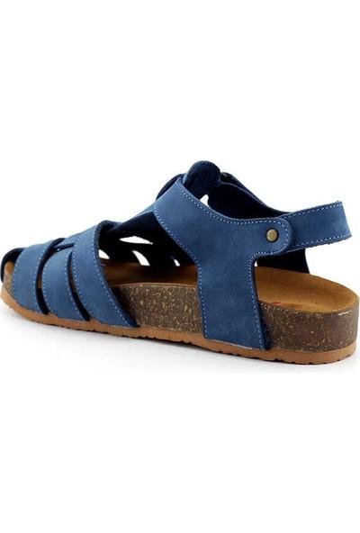 Pafi 311 F Çocuk Sandalet-Kot Nubuk
