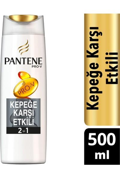 Pantene Kepeğe Karşı Etkili 500 ml 2'si 1 Arada Şampuan ve Saç Bakım Kremi