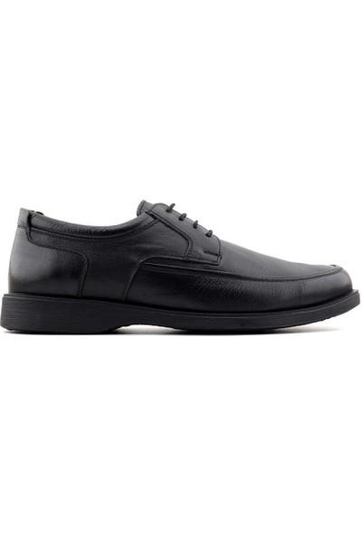 Gazioğlu 2010 Deri Erkek Ayakkabı-Siyah