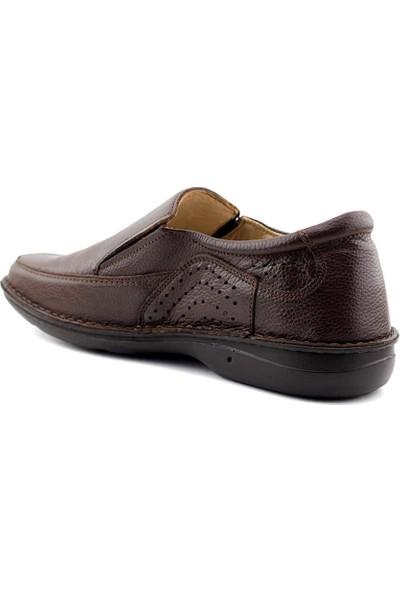 Al-Me 2115-1 Erkek Ayakkabı-Kahve