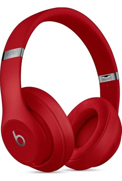 Beats Studio3 Bluetooth Kablosuz Kulaküstü Kulaklık - Red