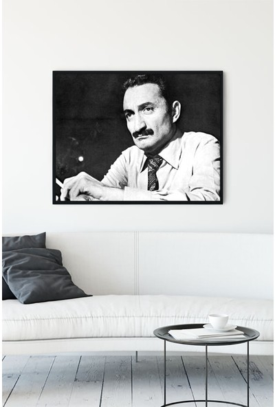 Postermanya Ecevit Çerçeveli Tablo 21 x 30 cm