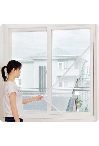 Arsimo Kesilebilir Pencere Sinekliği Cırt Bantlı Yapışkanlı 3 Adet