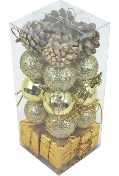 Süsle Bebek Parti Yılbaşı Ağaç Süsleme Seti
