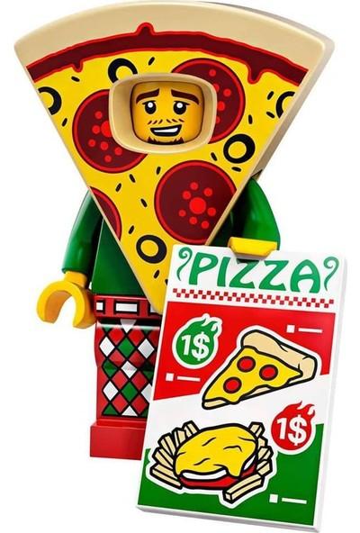 LEGO Minifigür Seri 19 71025 - 10 Pizza Costume Guy Minifigür